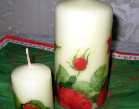 Как сделать свечки своими руками фото