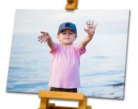 Как сделать в фотошопе картину фото