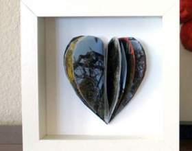 Как сделать валентинку своими руками: 3d сердце фото