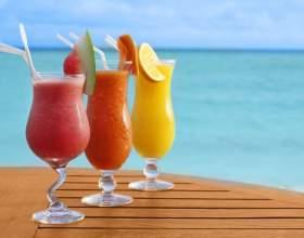 Как сделать вкусный фруктовый коктейль фото