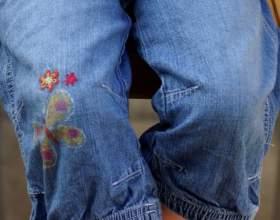Как сделать заплатки на джинсы фото