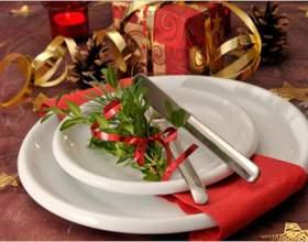 Как сервировать новогодний стол фото