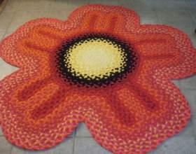 Как шить коврики из лоскутков фото