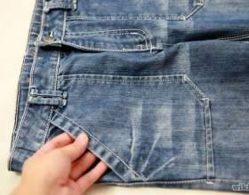 Как складывать джинсы фото