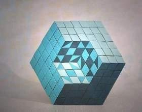 Как склеить кубик фото