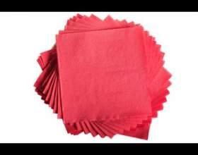 Как сложить бумажные салфетки в салфетницу фото