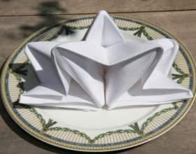 Как сложить красиво бумажные салфетки в салфетницу фото