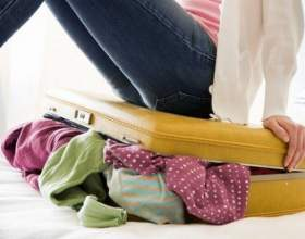 Как сложить вещи в чемодан фото