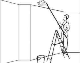Как смыть водоэмульсионную краску с потолка фото