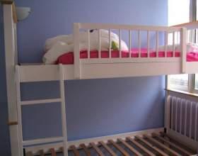Как собрать двухъярусную кровать фото