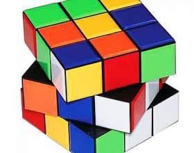 Как собрать первый слой кубика рубика по шагам фото