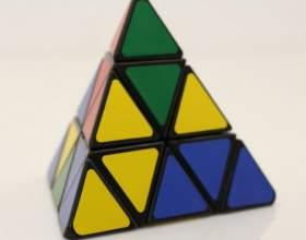 Как собрать треугольный кубик рубика фото