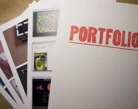 Как составлять портфолио фото