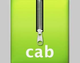 Как создать cab-файл фото