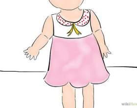 Как сшить детское платье фото
