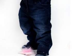 Как сшить джинсы на ребенка фото