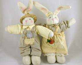 Как сшить игрушку зайца фото