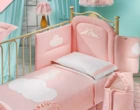 Как сшить комплект для детской кроватки фото
