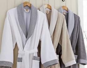 Как сшить мужской махровый халат фото