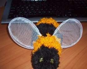 Как сшить пчелку фото