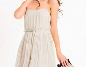 Как сшить платье-бюстье фото