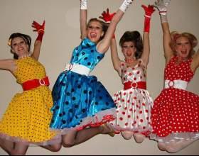 Как сшить платья в стиле стиляг фото