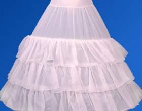 Как сшить пышную юбку из сетки фото