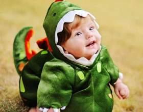 Как сшить ребенку костюм динозавра фото