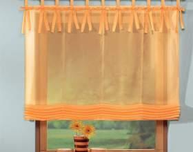 Как сшить шторы на петлях фото
