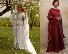 Как сшить средневековое платье фото