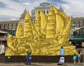 Как стать участником фестиваля песчаной скульптуры в петербурге фото