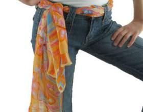 Как стильно носить шарф фото