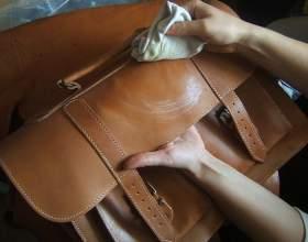 Как стирать кожаные сумки фото
