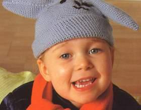 Как связать детскую шапочку фото
