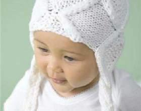 Как связать крючком детскую шапочку фото