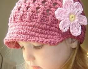 Как связать крючком шапку для ребенка фото