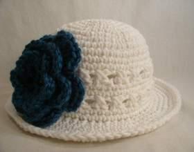 Как связать летнюю шляпу крючком фото