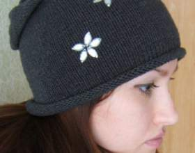 Как связать шапку-чулок фото