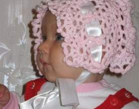 Как связать шапку для малыша фото