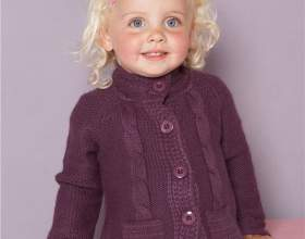 Как связать свитер для девочки фото