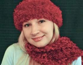 Как связать женскую шапочку спицами фото