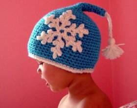 Как связать зимнюю шапку крючком фото