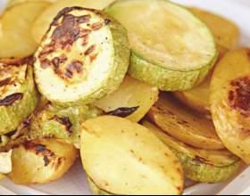 Как тушить кабачки с картофелем фото