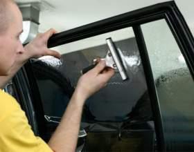 Как убрать тонировку со стекол фото