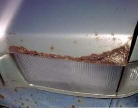 Как удалить ржавчину с автомобиля фото
