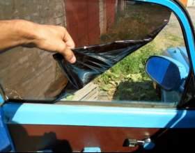 Как удалить тонировку со стекол фото