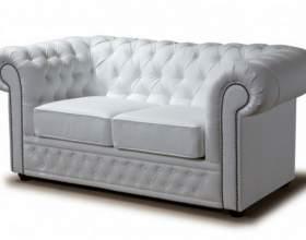 Как ухаживать за белым кожаным диваном фото
