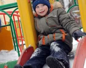 Как украсить детский участок зимой фото