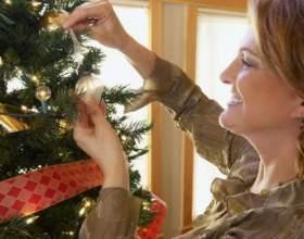 Как украсить елку к новому году фото