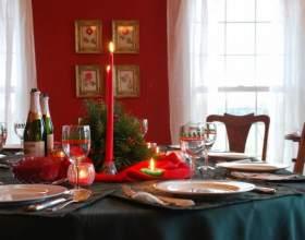Как украсить праздничный стол в новый год фото
